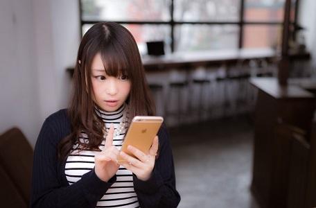 スマートフォン 美女